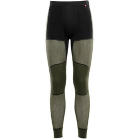 Aclima Hiking Sous-vêtement Homme, jet black/olive night/dill